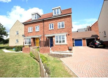 Thumbnail 4 bed semi-detached house to rent in Hull Road, Nightingale Rise, Moredon, Swindon