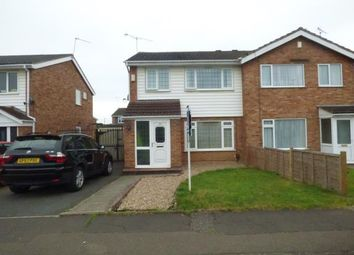Thumbnail 3 bedroom semi-detached house for sale in Garth Crescent, Binley, Coventry, West Midlands