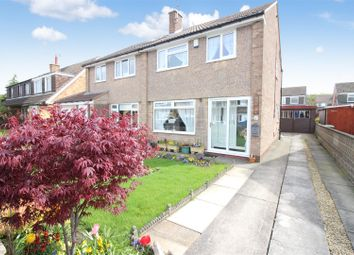 Thumbnail 3 bed semi-detached house for sale in Rowan Place, Garforth, Leeds