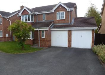 Thumbnail 4 bed detached house to rent in Chase Close, Chellaston, Derby