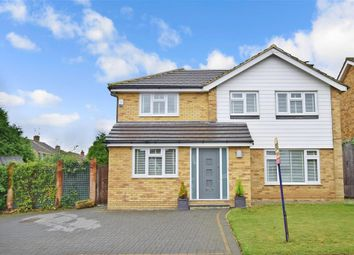 Thumbnail 4 bed detached house for sale in The Landway, Bearsted, Maidstone, Kent