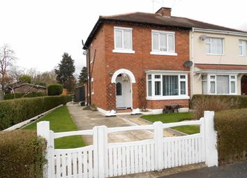 Thumbnail 3 bed semi-detached house for sale in White Avenue, Crewe, Cheshire