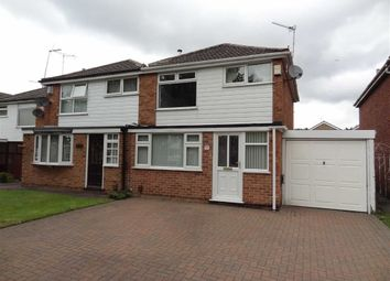 Thumbnail 3 bed semi-detached house to rent in Lynwood Road, Sinfin, Derby