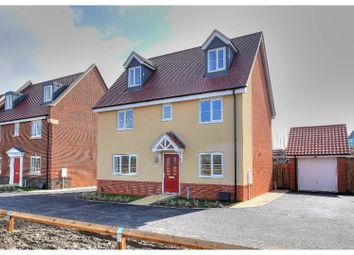 Thumbnail 5 bed detached house for sale in Thrush Road, Attleborough