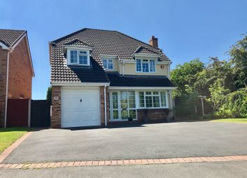 Thumbnail 4 bedroom detached house for sale in Harley Close, Wellington, Telford