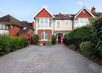 Thumbnail 4 bed semi-detached house for sale in Woodfield Road, London