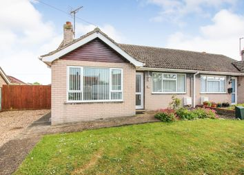 Thumbnail 2 bed semi-detached bungalow to rent in High Road, Wortwell, Harleston