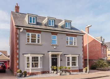 Thumbnail 6 bed detached house for sale in Boleyn Row, Epping, Essex