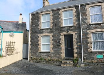 Thumbnail 3 bed semi-detached house for sale in Fore Street, Trevone