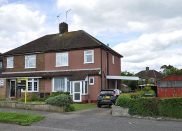Thumbnail 3 bedroom semi-detached house for sale in Cranborne Crescent, Potters Bar