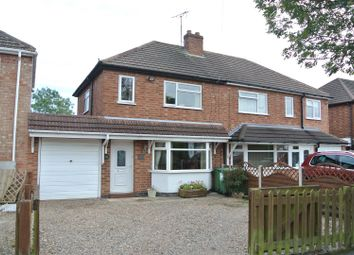 Thumbnail 2 bedroom semi-detached house for sale in Kings Drive, Leicester Forest East, Leicester