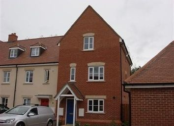 Thumbnail 4 bedroom terraced house to rent in Orchard Dene Drive, Padworth, Reading