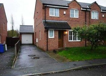 Thumbnail 3 bedroom semi-detached house to rent in Frecheville Street, Staveley, Chesterfield