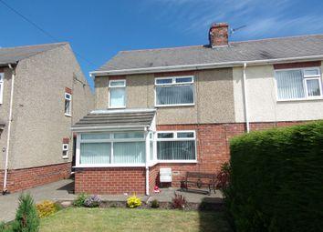 3 bed semi-detached house for sale in Millfield, Bedlington NE22