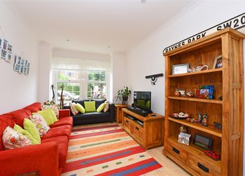 Thumbnail 2 bed end terrace house to rent in Vernon Avenue, Raynes Park, Raynes Park