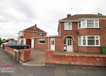Thumbnail 3 bed semi-detached house for sale in Freeboard Road, Braunstone Town, Leicester