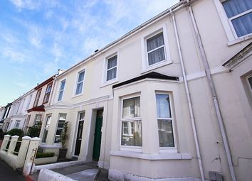 Thumbnail 1 bed terraced house to rent in Palmerston Street, Stoke, Plymouth