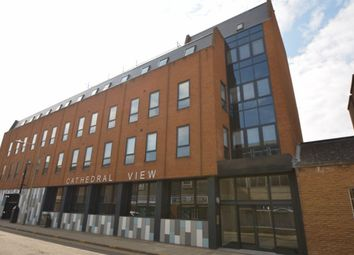 Thumbnail 1 bedroom flat to rent in Cathedral View, City Centre, Peterborough