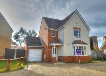 Thumbnail 3 bedroom detached house for sale in Suffolk Close, Great Yarmouth