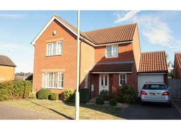 Thumbnail 4 bed detached house for sale in Holly Blue Close, Ipswich