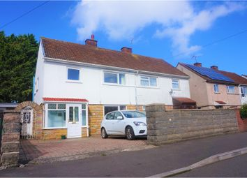 Thumbnail 3 bed semi-detached house for sale in Dolwen Road, Cardiff