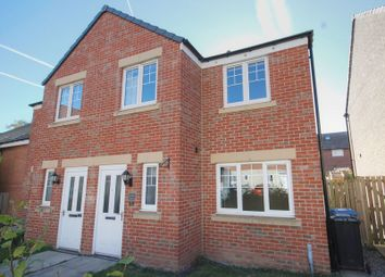 Thumbnail 3 bedroom semi-detached house for sale in Loansdean Wood, Morpeth