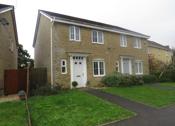 Thumbnail 3 bed semi-detached house for sale in Suran Y Gog, Barry