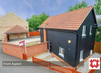 Thumbnail 3 bedroom detached house to rent in Comfrey Road, Stotfold, Herts