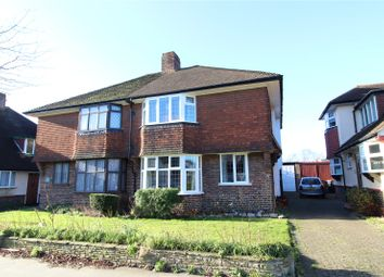 Thumbnail 3 bed semi-detached house for sale in The Ridgeway, Croydon