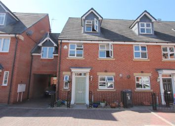 Thumbnail 4 bed town house for sale in Fosse Close, Burbage, Hinckley
