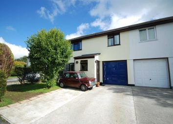 Thumbnail 3 bed semi-detached house for sale in Lewellyn Close, Camelford