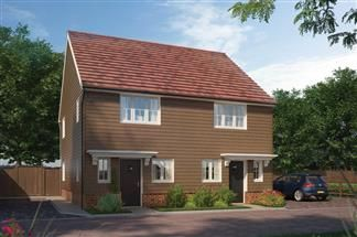 Thumbnail 2 bed semi-detached house for sale in Off Bessle's Way, Blewbury Didcot, Oxfordshire