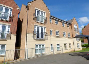 Thumbnail 2 bedroom flat for sale in Dunster Close, Rugby