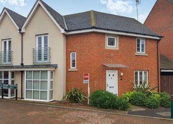 Thumbnail 3 bedroom semi-detached house for sale in Bridle Lane, Hampton Vale, Peterborough