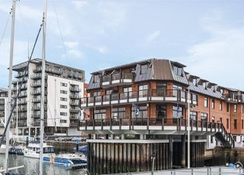Thumbnail 2 bedroom flat for sale in Calshot Court, Channel Way, Ocean Village, Southampton