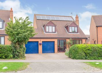 Thumbnail 4 bed detached house for sale in Gregories Drive, Wavendon Gate, Milton Keynes