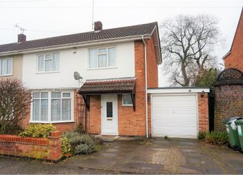 Thumbnail 3 bed semi-detached house for sale in Tredington Road, Glenfield