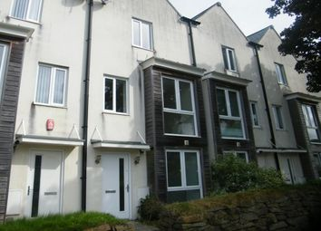 Thumbnail 4 bedroom town house to rent in Clittaford Road, Plymouth