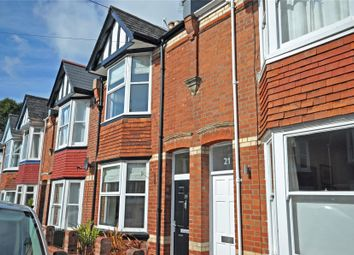 Thumbnail 3 bed terraced house for sale in West Grove Road, St. Leonards, Exeter