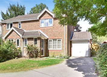 Thumbnail 3 bed semi-detached house for sale in Cloverbank, Kings Worthy, Winchester, Hampshire