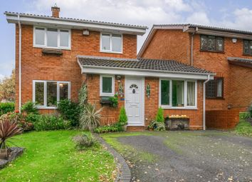 Thumbnail 4 bed detached house for sale in Oakham Close, Redditch