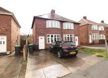 Thumbnail 3 bed semi-detached house for sale in Beardsmore Grove, Hucknall, Nottingham