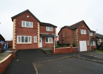 Thumbnail 4 bed detached house for sale in Hillstone Avenue, Shawclough, Rochdale
