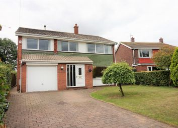 Thumbnail 4 bed detached house for sale in Fordlands, Thorpe Willoughby