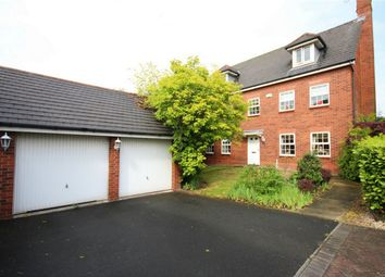 Thumbnail 5 bedroom detached house for sale in Browning Drive, Winwick, Warrington
