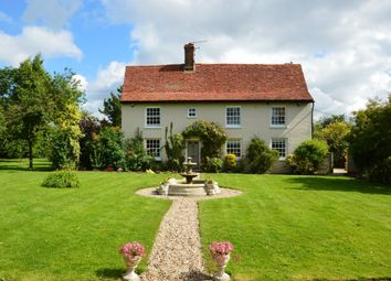 Thumbnail 5 bed detached house for sale in Hundon, Sudbury, Suffolk