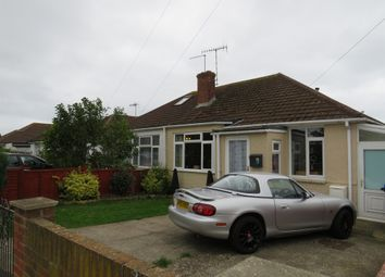 Thumbnail 2 bed semi-detached bungalow for sale in Gordon Road, Lancing