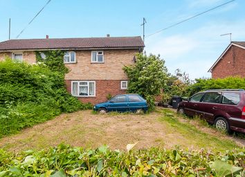 Thumbnail 3 bed semi-detached house for sale in Crane Avenue, Yaxley, Peterborough