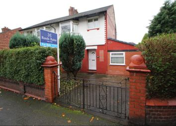 Thumbnail 4 bedroom semi-detached house for sale in Reddish Road, South Reddish, Stockport