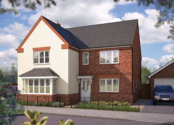 "Thumbnail 5 bed detached house for sale in ""The Arundel"" at Steppingley Road, Flitwick, Bedford"